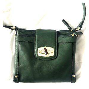 Handbags - Hunter green crossbody bag